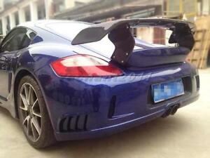 Frp Rear Wing Fit For 06 12 Porsche 987 Cayman Boxster Ta Trunk Spoiler