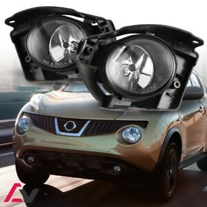 14 17 For Nissan Juke Clear Lens Pair Oe Fog Light Lamp Wiring Switch Kit Dot