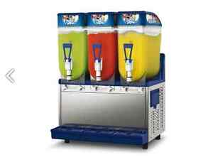 Spm Frosty 3 Bowl Granita Margarita Bellini Slush Machine