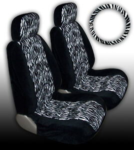 New Item Zebra Deluxe Car Truck Seat Cover Covers