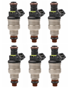 Set 6 Flow Matched Fuel Injectors For Ford 2 3 2 9 3 0 3 8 4 9 5 0 F47e a2e