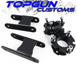 2015 2018 Chevy Colorado 3 Front 2 Rear Lift Leveling Steel Kit 4x2 4x4