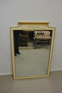 Italian Regency Painted Mirror By John Widdicomb