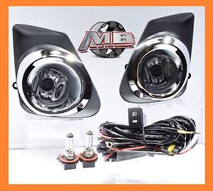For 2011 2013 Toyota Corolla Lens Oe Bumper Driving Fog Lights Bezel Wiring Kit