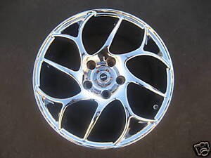 17 Wheels Chrome Smith Wheel Style Twister 17x8 5lug 5x4 5 Et 40 4 New