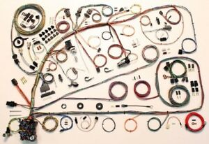 1966 67 Ford Fairlane Mercury Comet American Autowire Wiring Harness Kit 510391