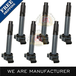 Ignition Coil Set Of 6 Kit For Camry Avalon Rav4 Sienna Venza Rx350 Es350 3 5l