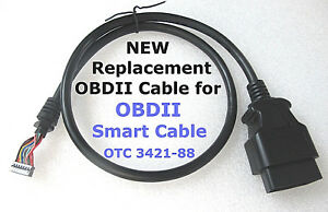 Obdii Cable Replacement For Otc 3421 88 Smart Cable Genisys Evo Matco Mac Tools