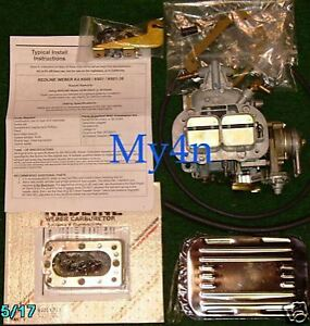 Nissan Pickup Z24 Genuine Redline Carb Kit Weber 38 Outlaw Manual Choke