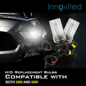 Two 35w 55w Xenon Hid Kit s Replacement Light Bulbs H1 H4 H7 H10 H11 9005 9006