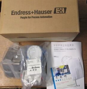 New Nos Endress Hauser Pmd75acc7h41d1au Differential Pressure Transmitter