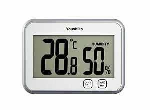Digital Thermometer Hygrometer Humidity Temperature Monitor Meter 2 In 1