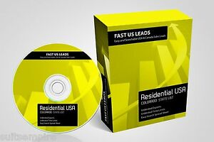 Colorado Residential Directory Sales Leads List Telemarketing Auto dialer