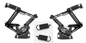 New 1967 1970 Mustang Cougar Hood Hinges Springs Pair Both Left And Right Side