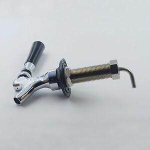 Draft Beer Faucet And Shank 90mm Draft Beer Bar Equipment world Free Shipping
