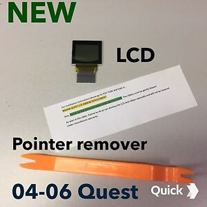 04 05 06 Nissan Quest Lcd Screen Speedometer Cluster Improved Quest Display