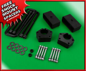 3 Front 2 Rear Steel Blocks Lift Kit For 1986 1995 Toyota Ifs Pickup 4wd 4x4