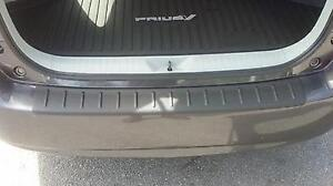 2012 2016 Southeast Toyota Prius V Rear Bumper Protector In Black 00016 47120