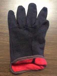 48 Pair Brown Jersey Insulated Lined Gloves New