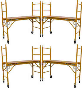 5 Mfs Scaffold Rolling Towers 29 w X 6 h Deck Aka Perry Baker Baby Tower Cbm1290