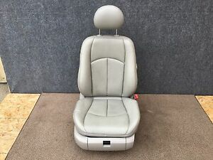 Mercedes Benz Oem W211 Front Passenger Right Side Seat Leather Gray 030
