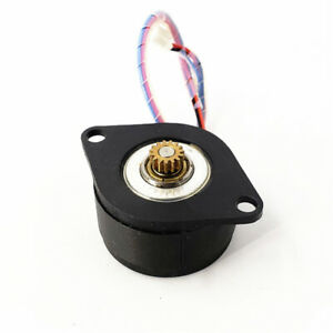 Moons 0 9 Degree Micro 36mm Round Thin 2 phase 4 wire Stepper Motor Copper Gear