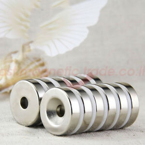... Wholesale 20mm X 5mm Hole 5mm N50 Round Disc Magnets Rare Earth Neodymium