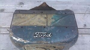 1920 30 s Vintage Ford In Car Heater ford Script Great Condition 11 X8 5 X7