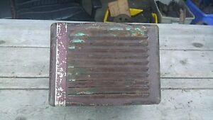 1920 30 S Vintage Firestone In Car Heater Good Condition 10 X 10 X 7