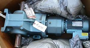 New Sew Eurodrive Electric Motor And Reduction Gear 1 Hp