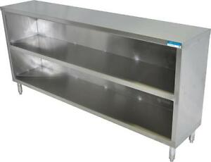 Bk Stainless Steel Dish Cabinet 48 X 15