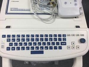 Burdick Quinton Cardiac Science Mortara Eli350 Interpretive Ekg Ecg Machine