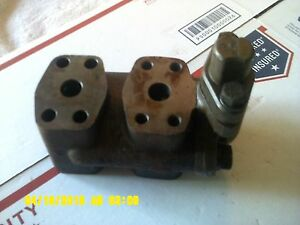 Rare Nos Caterpillar Hydraulic Steering Valve 4h441 3h6249 Fast Free Shipping