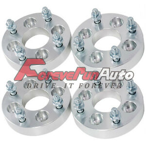 4pc 1 4x100 To 4x4 5 Wheel Spacers Adapters 12x1 5 Studs For Chevy Dodge Honda