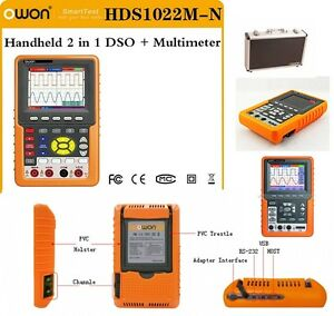 Owon Hds1022m n 2channel 20mhz 100ms s Handheld Digital Storage Oscilloscope