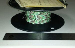 240 Ft Spool M22759 11 24 9015 24awg Black brown green white Cable Wire 19 36spc