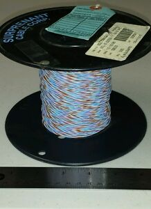 410 Ft Spool M22759 11 24 9167 24awg Blue brown violet white Cable Wire 19 36spc