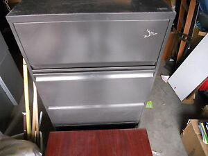 Local Pickup Large Vintage 5 Drawer Corporate Government Industrial File Cabinet