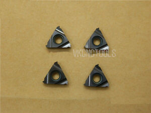 10pcs 11er1 5 Iso pitch 1 5mm Iso Metric External Carbide Threading Inserts