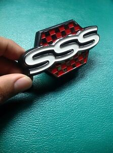 Datsun Bluebird 910 Sss Jdm Sss Grille Emblem Badge Genuine Part Nos Japan
