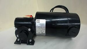 Bodine Dc Gear Motor S n 4134arec0019 1 4 Hp 500 Rpm 130 V 5 1 Ratio 1 8 A