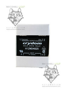 Crydom Solid State Relay H12wd4825 25 A 48 660 V Pm Ip00 Ssr 660vac 25a