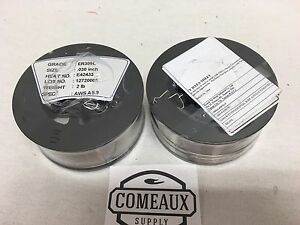 2 Rolls Er309l 030 2 Spool Stainless Steel Welding Us Seller Comeaux Supply