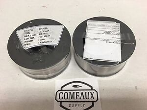 2 Rolls Er309l 035 2 Spool Stainless Steel Welding Us Seller Comeaux Supply