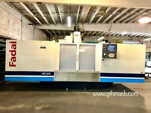 Fadal Vmc 8030 Cnc Machining Center 10 000 Rpm Full Refurbished