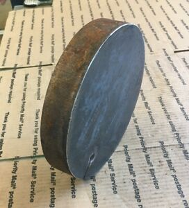 Round Steel Plate Cut 1 1 4 Thick 8 1 4 Circle Target Plate Hammer Plate