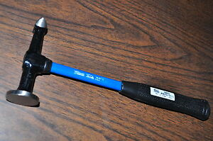 Auto Body Cross Peen Hammer W Ding Head Fiberglass Handle Martin 168fg Usa