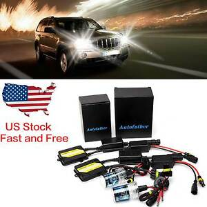 9005 9006 For Jeep Grand Cherokee 1999 2004 Hi Low Beam Ac Canbus Hid Xenon Kit