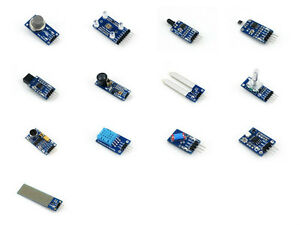 13pcs Sensor Modules Package Detection Sensor Kits For Avr Stm32 Etc