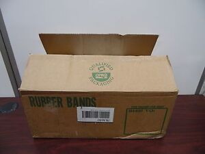Lot Of 8 500 33 Sterling Rubber Bands 3 1 2 X 1 8 46b
